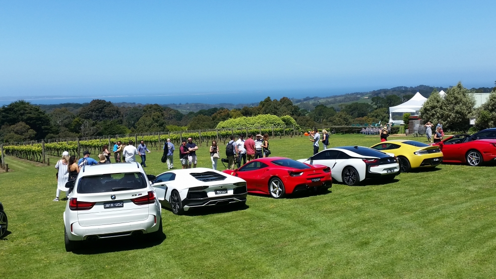Fast & The Futurist - Melbourne - Supercars at Winery