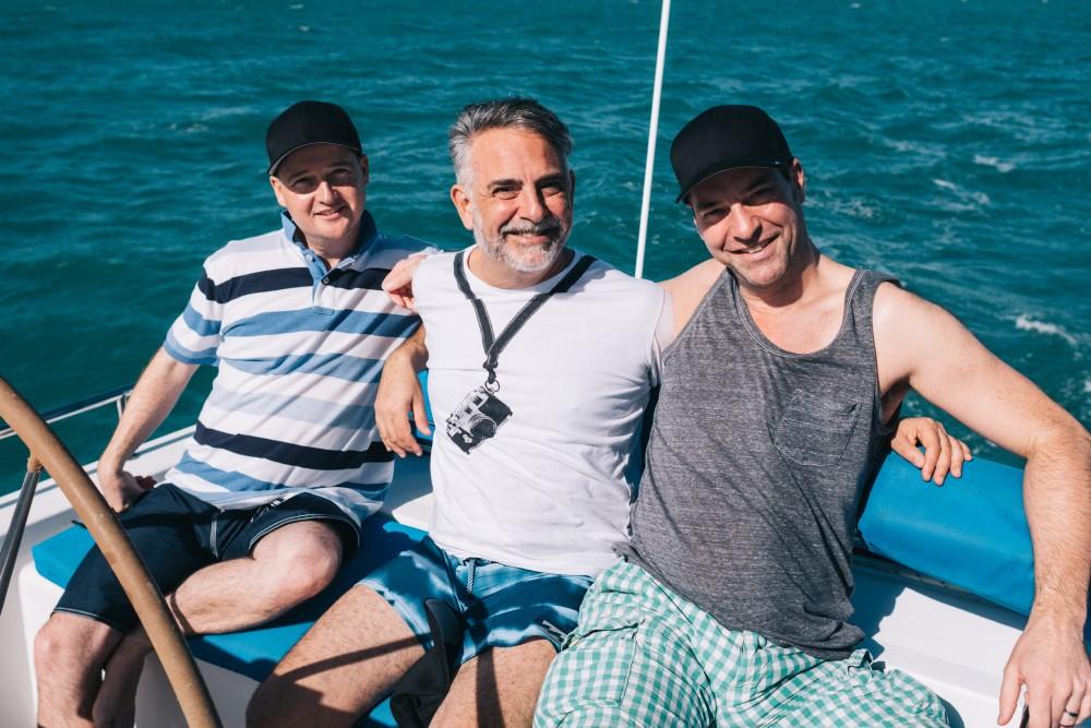 Ripple Effect - Port Douglas - Members on the Boat