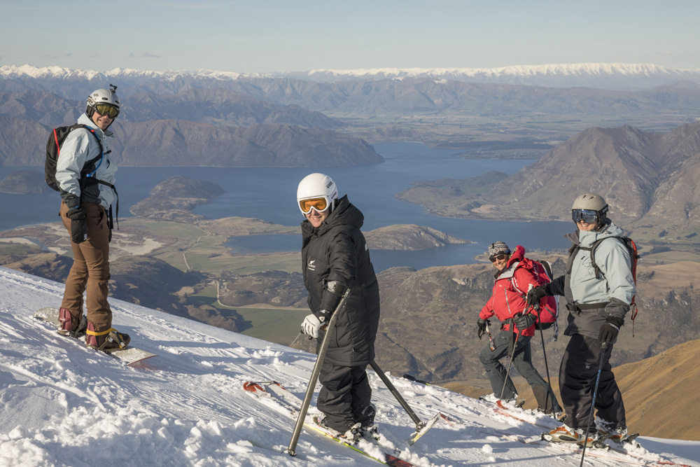 Off The Edge - NZ - Heli Ski - Olympian and Members